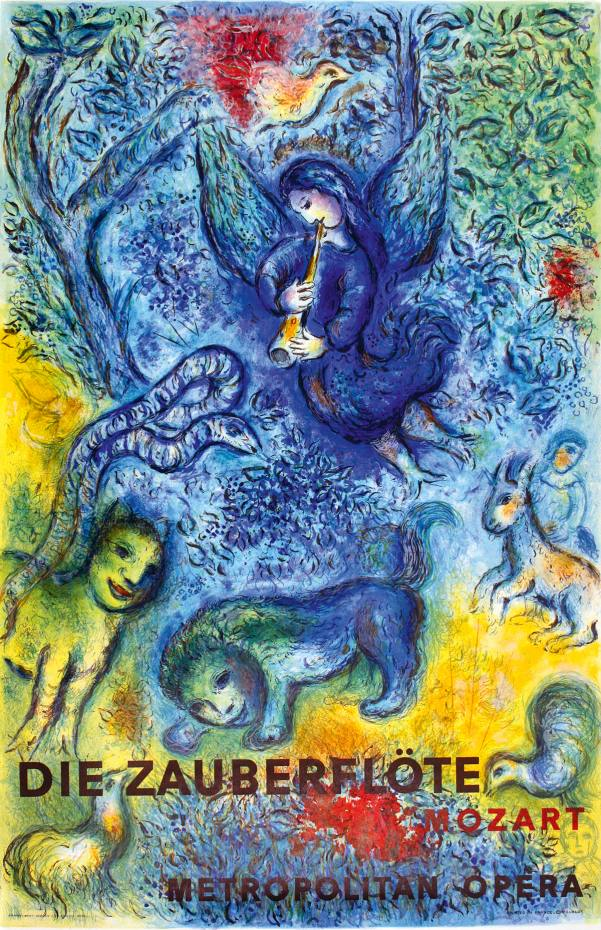 1967 poster by Marc Chagall for the Metropolitan Opera, €2,800, from The Ross Art Group