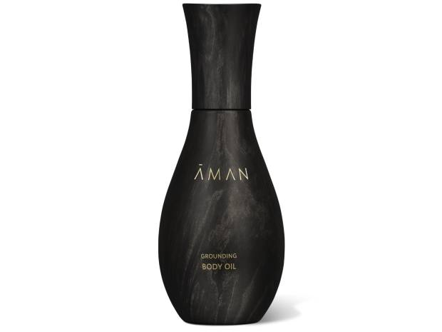 Aman Spa Grounding Body Oil, £100 for 100ml