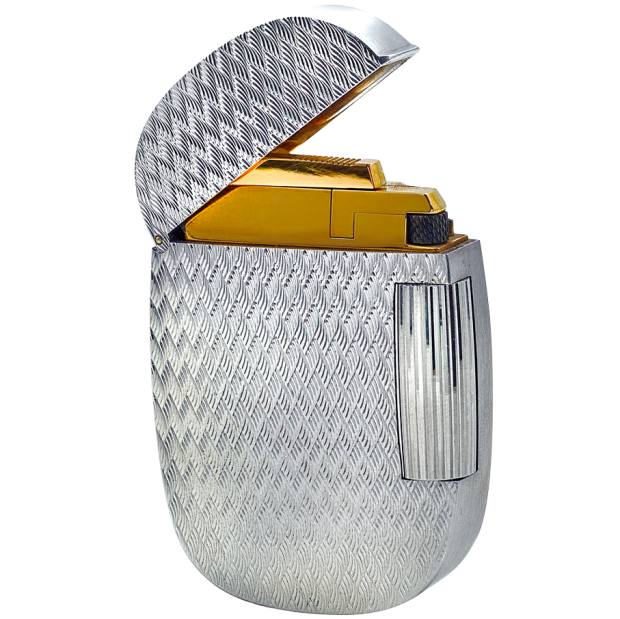 c1970s Patek Philippe white-gold lighter, sold for $22,500 at Christie's