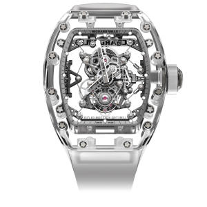 Richard Mille sapphire crystal RM 56-02 on rubber strap, about £1.33m