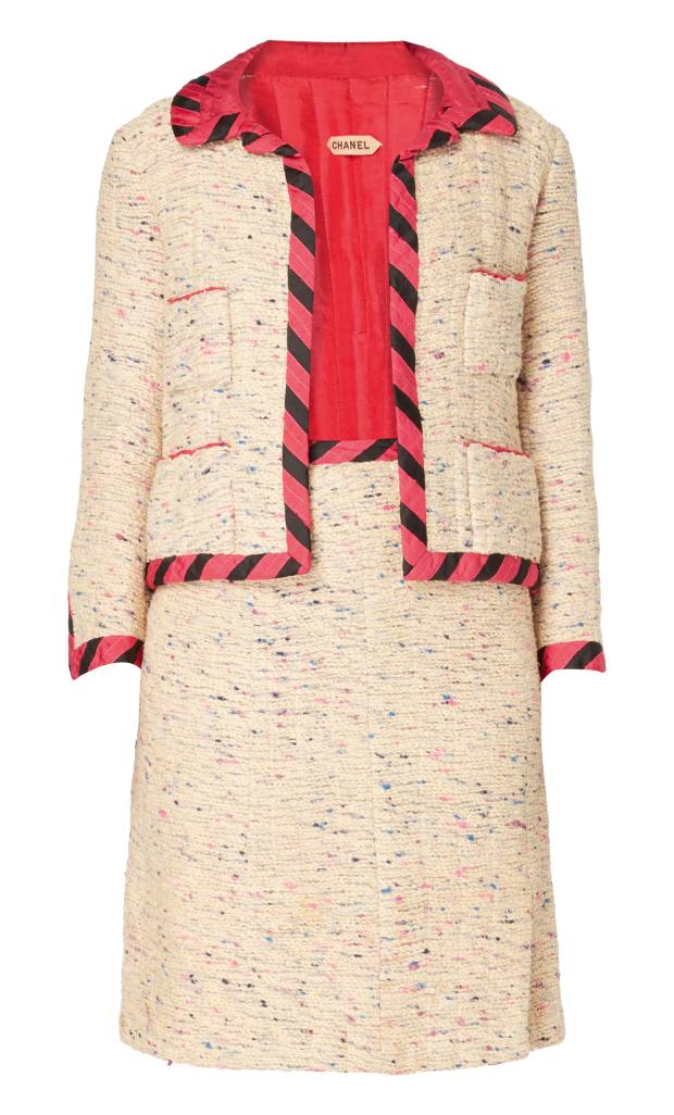 c1963 wool suit, £6,875 from William Vintage