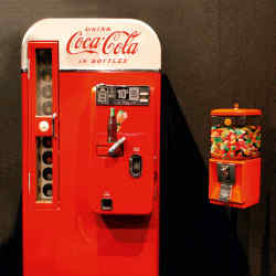 1957 Vendo 81 Coca-Cola machine, £9,750 at Games Room Company