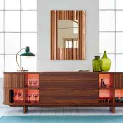 Tree Couture American black walnut and English pear wood Gaiola credenza, from £22,495