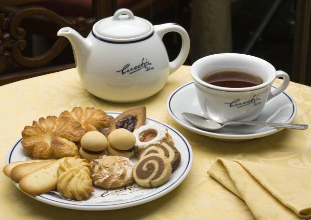 Pasticceria Cucchi, in Milan's Porta Genova, serves mouthwatering pastries