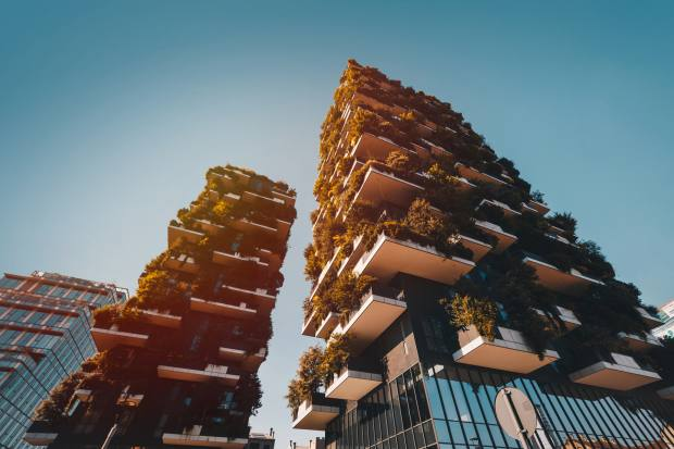 A one-bedroom apartment in Milan's iconic Bosco Verticale is on sale at €930,000 through Frimm Academy Milano