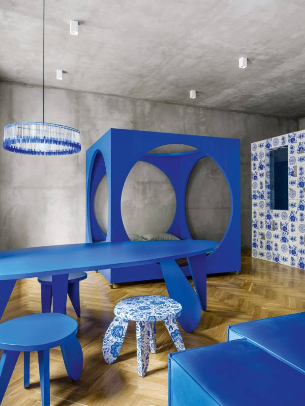 Crosby Loft, a Moscow studio designed by Crosby Studios' Harry Nuriev