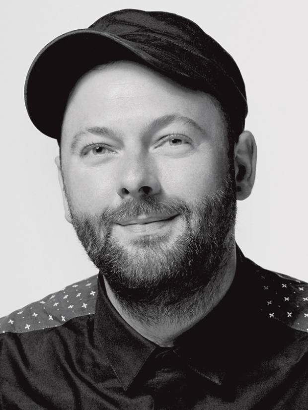 Nars UK make-up artist ambassador Andrew Gallimore