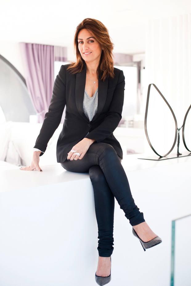 Valérie Messika at home in Paris