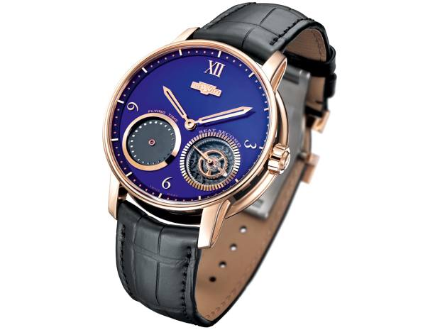 DeWitt rose-gold Academia Out of Time on alligator strap, £40,200