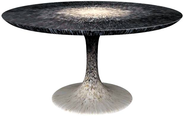 Pinto Paris mother-of-pearl and fine-shell Stella dining table, €45,000