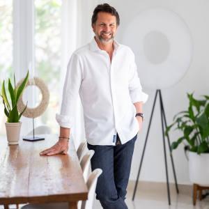 Maximilian Büsser at home in Dubai