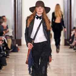 Ralph Lauren Collection wool hat, £1,400