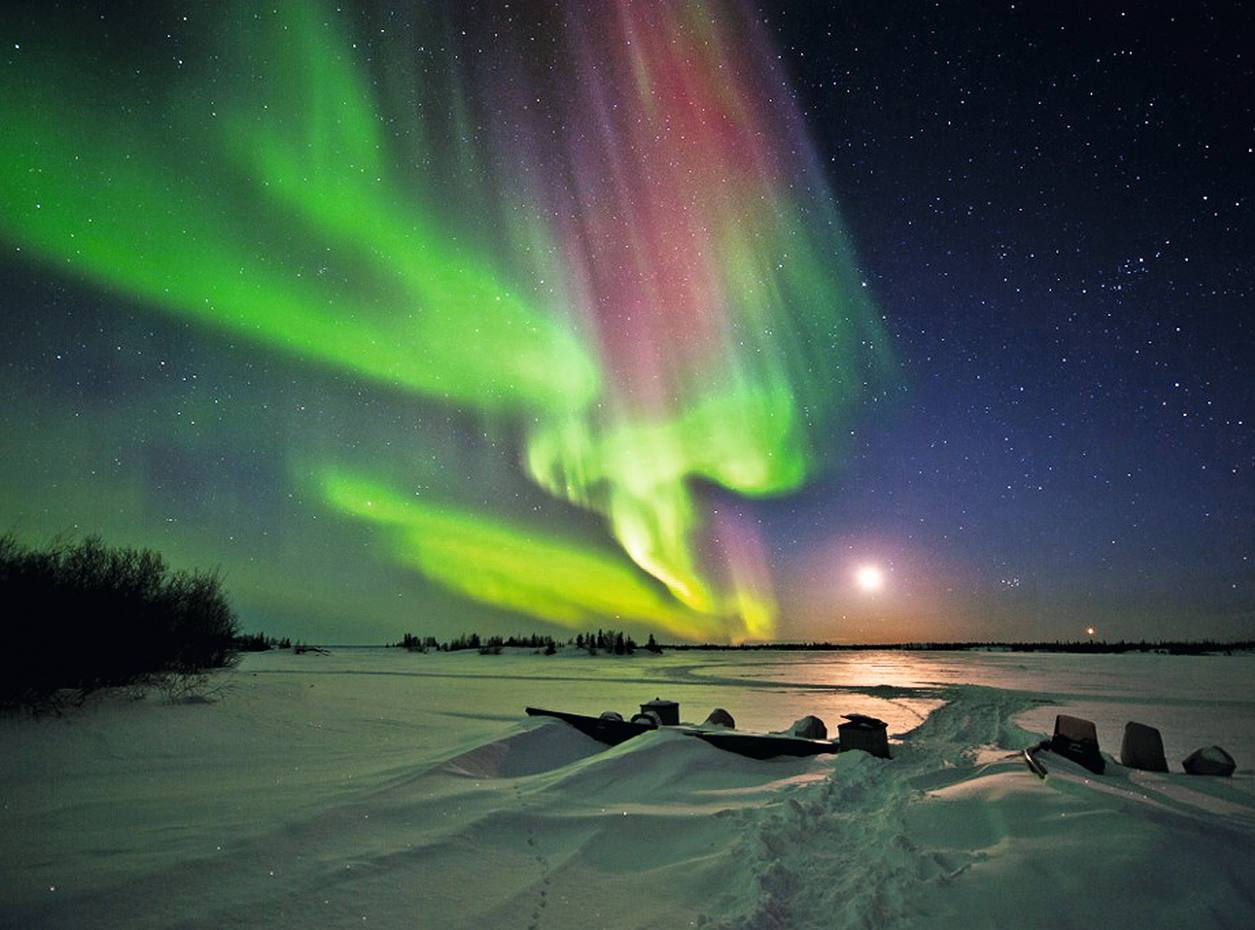The Northern Lights in Canada's Yukon territory