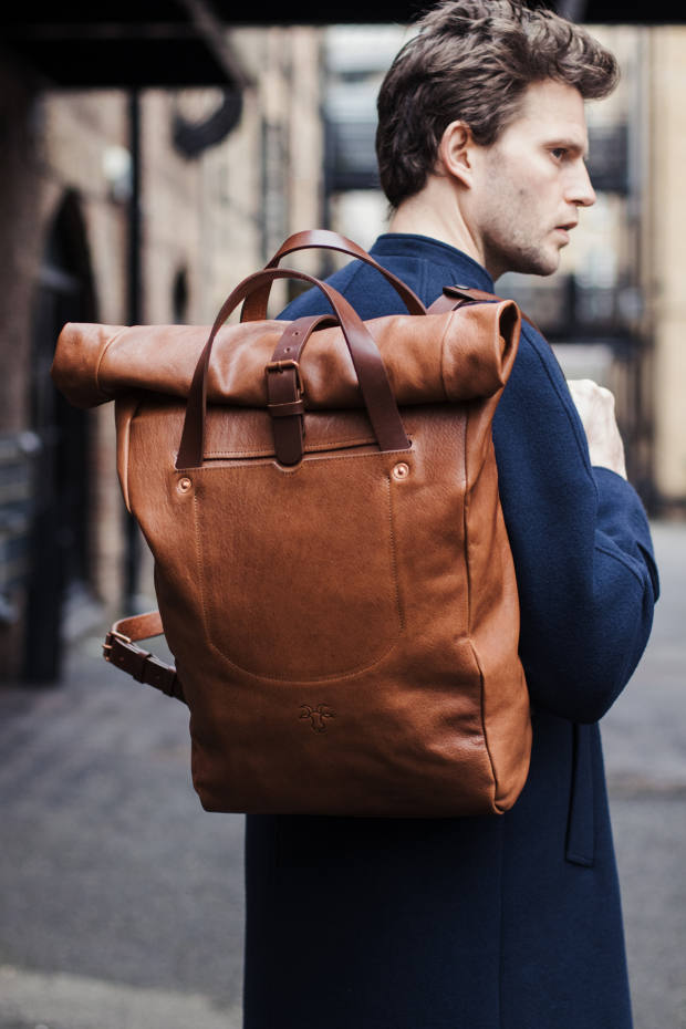 Billy Tannery kid leather backpack, £595