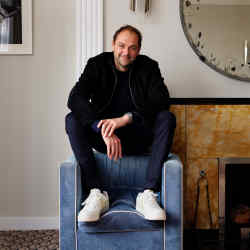 Chef Daniel Humm in Claridge's