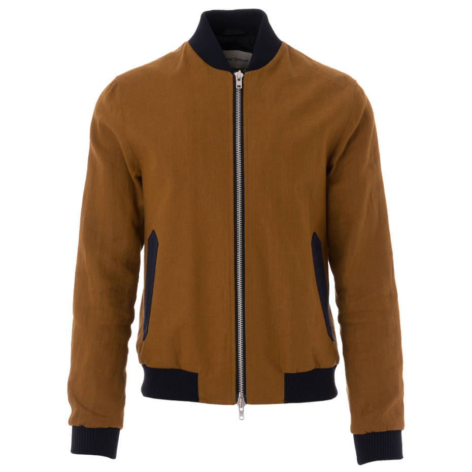 Oliver Spencer linen bomber jacket, £329
