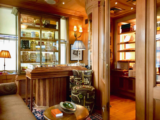 The Birley Cigars shop in Mayfair, which has unprecedented storage and maturation facilities and a remarkable array of rarities