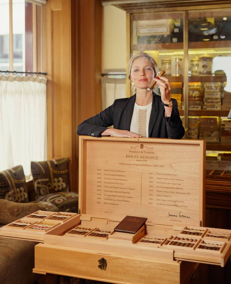 Jemma Freeman of Hunters & Frankau, creatorofitsHouse Reserve cigars