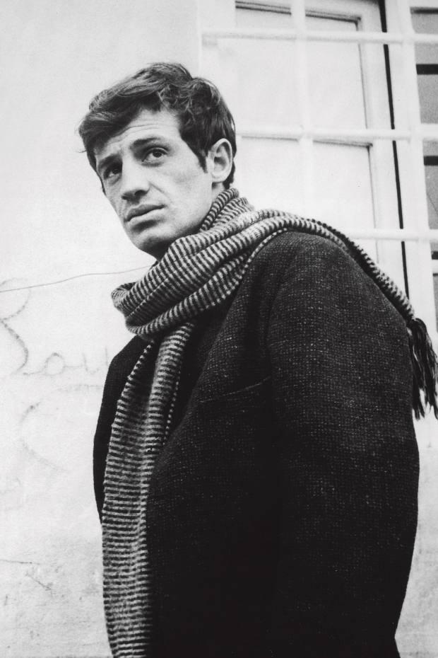 Actor Jean-Paul Belmondo, a style icon of Officine Générale founder Pierre Mahéo