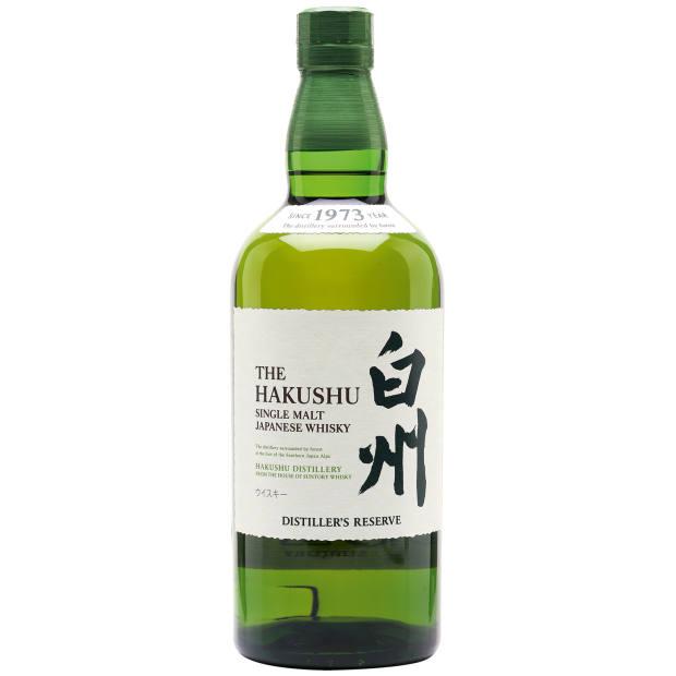 Hakushu Distiller's Reserve whisky, £61.95
