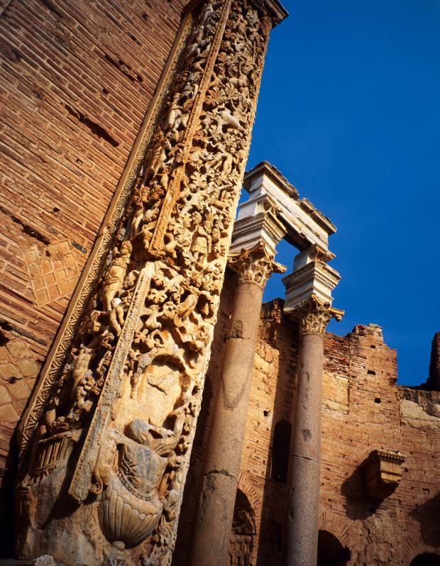 Leptis Magna, just over an hour's drive from Tripoli, is one of antiquity's most extraordinary sites