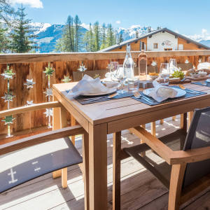 Four-bedroom Rosalp 4 chalet from the Ski Verbier Exclusive portfolio is open for summer-season bookings