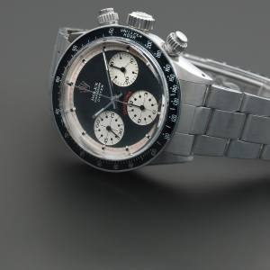 Rolex Oyster Sotto with black and white Paul Newman dial, estimate £300,000 to £400,000
