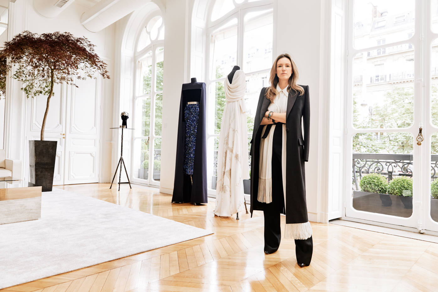 d0cf3cbe707ca Givenchy creative director Clare Waight Keller at the brand s Parisian HQ