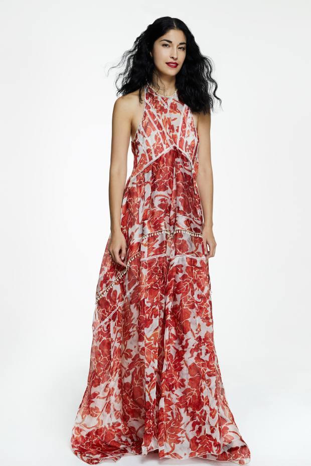 Caroline Issa selected this Altuzarra silk Bellini dress, £6,950