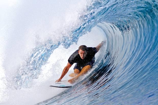Fiji's reef breaks make it a surfer's paradise