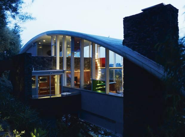Garcia House in LA, designed by John Lautner.
