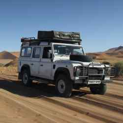 The Land Rover Defender TDCi