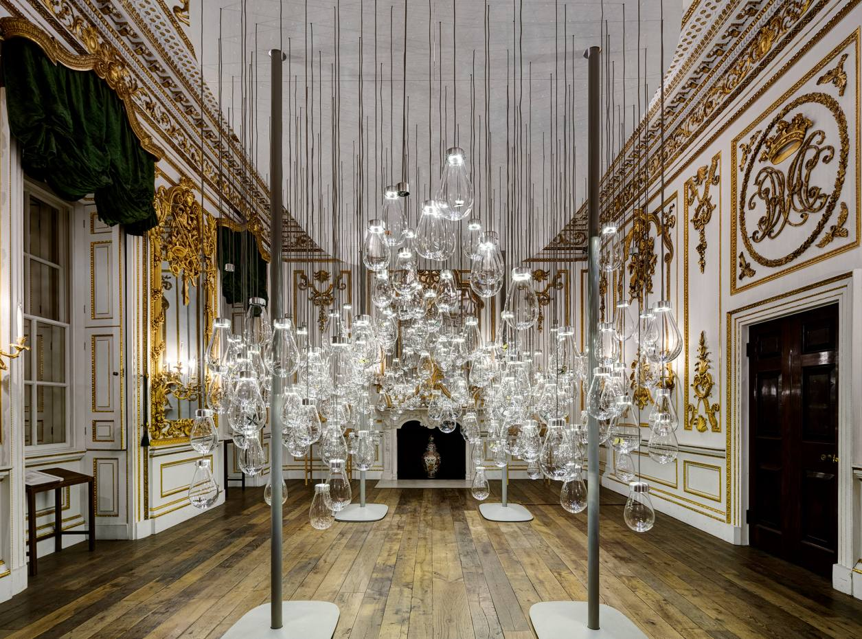 Curiosity Cloud by Mischer'Traxler in the V&A's Norfolk House Music Room during last autumn's London Design Festival