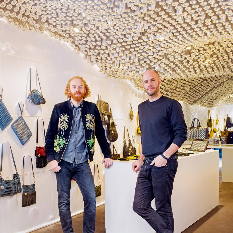 Bottletop co-founders Oliver Wayman and Cameron Saul