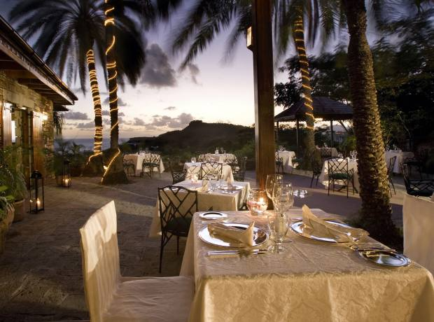 The Terrace restaurant at The Inn at English Harbour