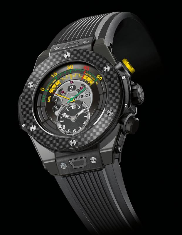 Hublot ceramic Big Bang Unico 2014 FIFA World Cup Brazil official watch, €20,300- one of a limited edition of 200