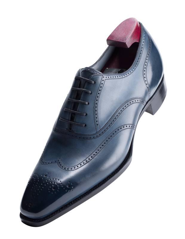 Gaziano & Girling leather Mitchel shoes, from £1,200. Made to order