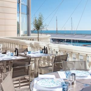 L'Hirondelle, the restaurant in Monaco's Thermes Marins spa and fitness centre