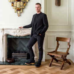 Christopher Jenner at home in west London
