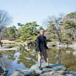 Phillip Lim in the Imperial Gardens, Tokyo