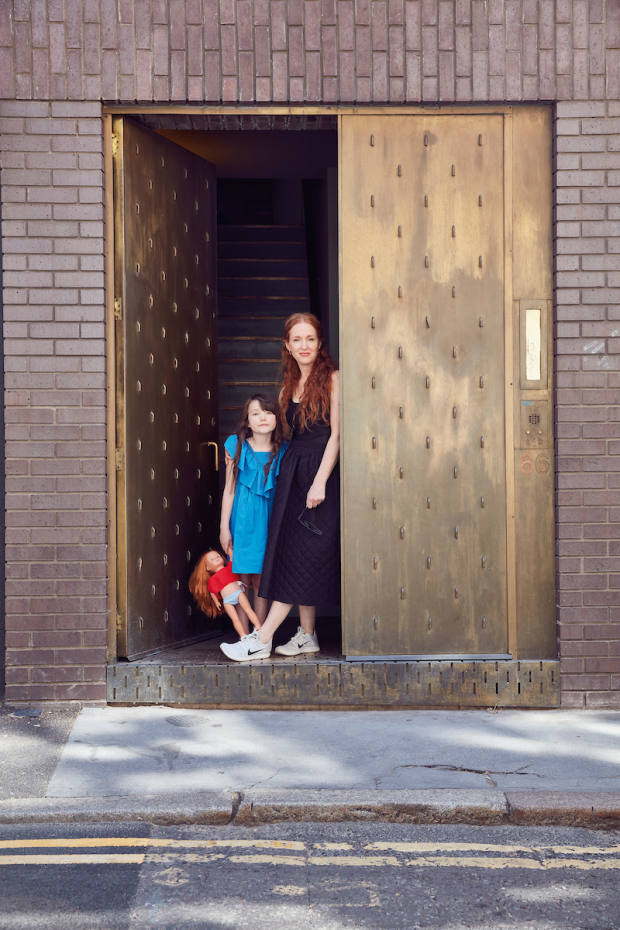 Architect Mary Duggan with her daughter Margot