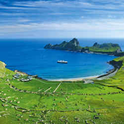 The harsh but beautiful St Kilda islands, off the north-west coast of Scotland.