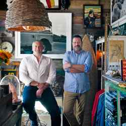 Mate Gallery owners Ron Brand and Matt Albiani