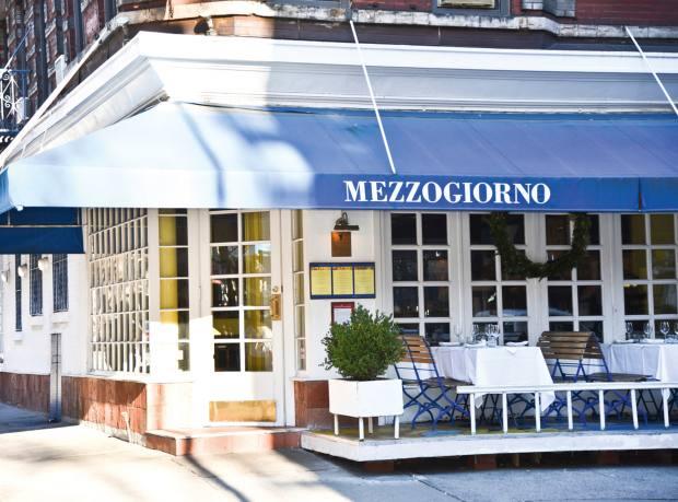 Mezzogiorno restaurant, New York