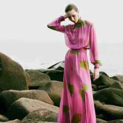 Vanda Jacintho silk Daniella maxi dress, from £480