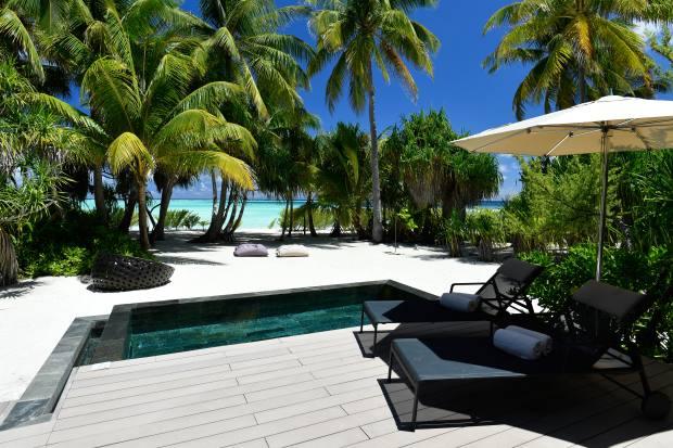 TheBrando resort on Tetiaroa, French Polynesia