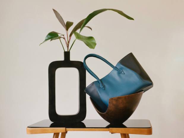 Métier London calfskin Perriand Collapsible bag, £1,850