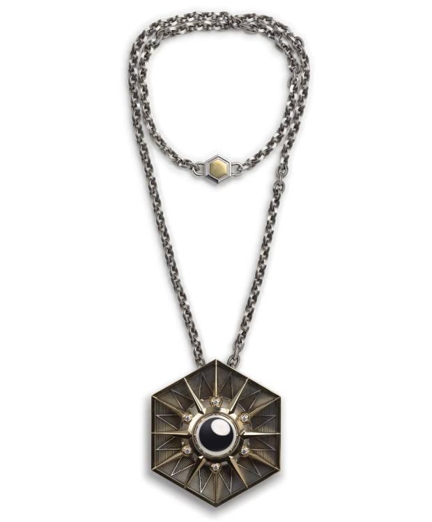 Kilian Hennessygavehis wife a necklace from Elie Top's Mécaniques Célestes collection
