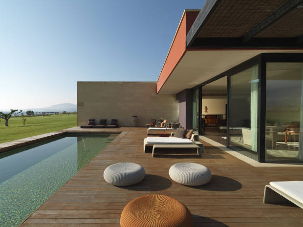 The Presidential suite terrace and pool at Verdura Resort, Sicily