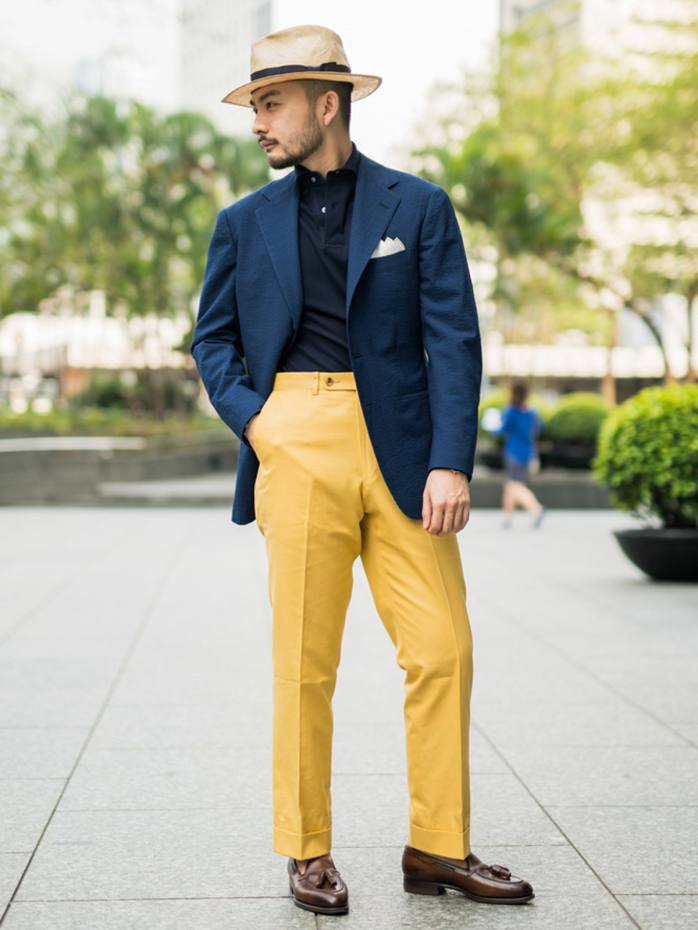 The Armoury x Ring Jacket cotton Model A trousers, $375